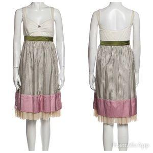 John Galliano Silk Babydoll Dress size 40IT/4 US